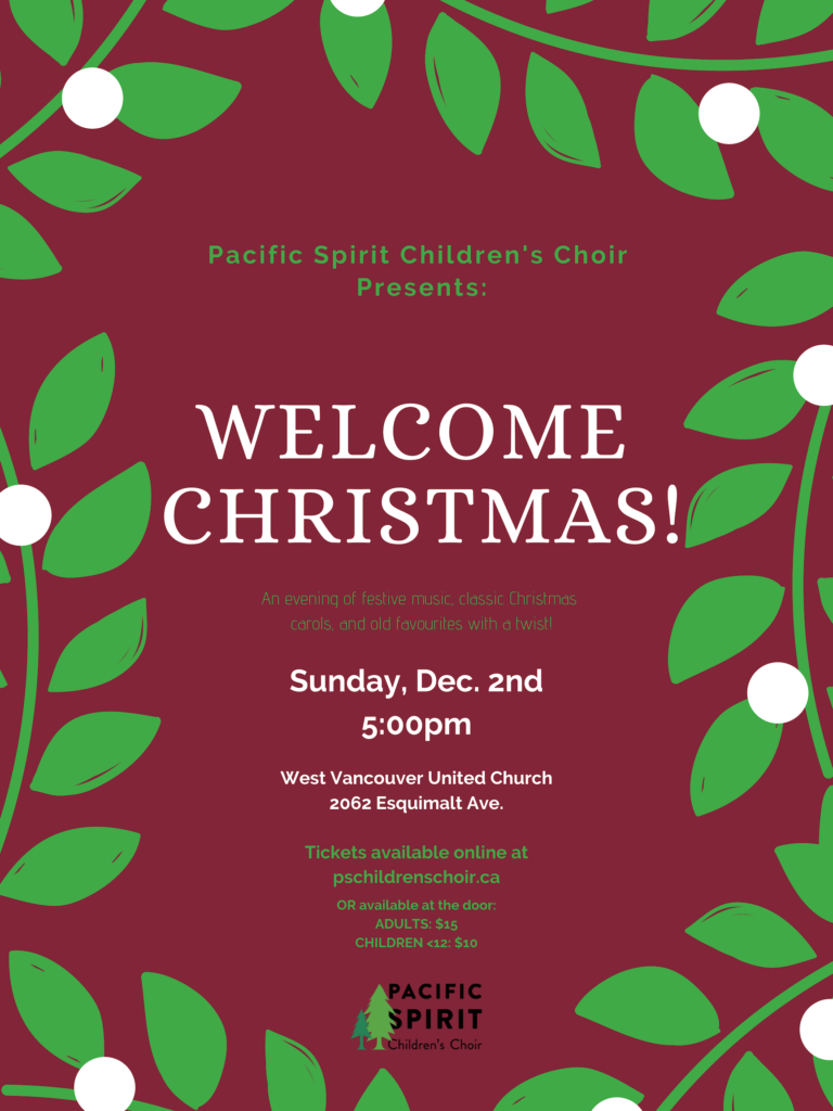 Welcome Christmas.Welcome Christmas Uncategorized Pacific Spirit